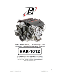 HAR 1012 psi instructions standalone wiring harness ls wiring ls psi ls1 wiring harness instructions at highcare.asia