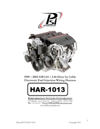 HAR 1013 psi instructions standalone wiring harness ls wiring ls ls swap harness rework at fashall.co